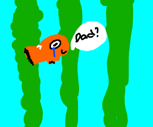 Nemo is looking for his dad