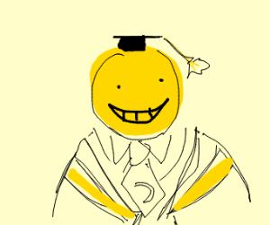 Koro-sensei from assassination classroom