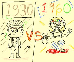 1930s vs 1960s