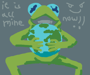 Kermit takes over the world