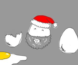 egg santa