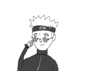 Naruto wears Elton John's Sunglasses