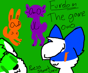 Furry Fandom - The Game (i have commited sin)