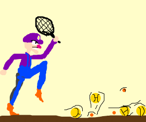 Waluigi just wants to play tennis