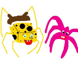 Annoyed Sponge - Drawception