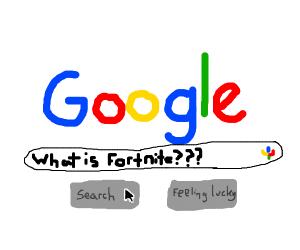 googling fortnite