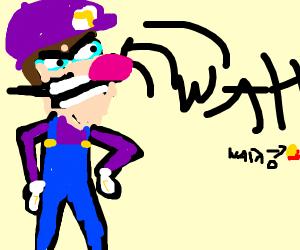 Waluigi kills wario withthe wah