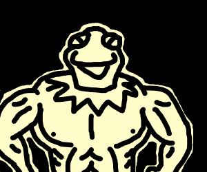 muscle-kermit