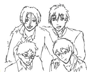 hmm...some anime guys ?