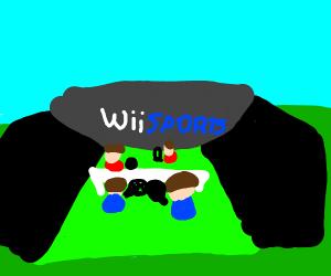 Wii sports - Drawception