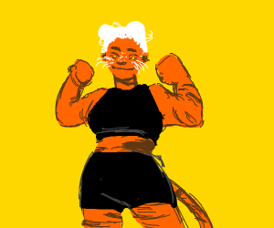buff tiger