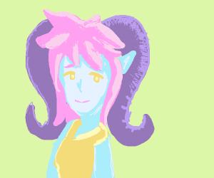 A squid elf demon.