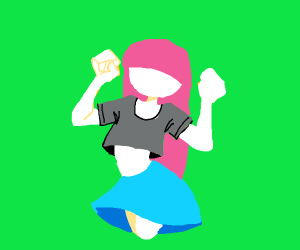 Princess Bubblegum dancing