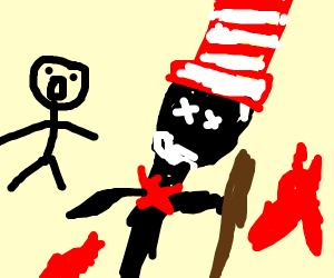The Cat in the Hat is dead