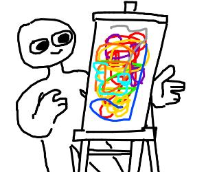 scribbles or ART!
