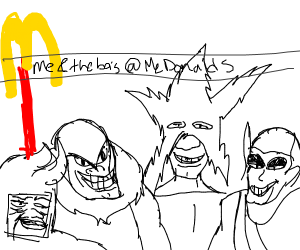 Me and the boys go to McDonald's