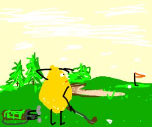 lemon is a golfer