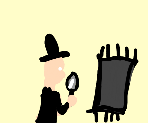 Detective collecting a Carpet