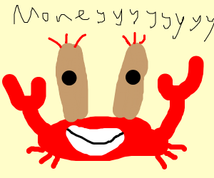 Mr crabz as a crab