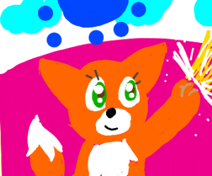Fox Magical Girl