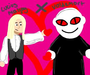Voldemort x Lucius Malfoy