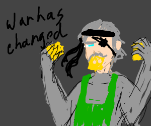 Metal Gear Solid 4: Solid Cheese