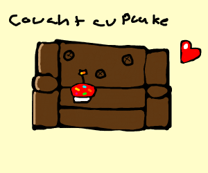 Cupcake + Couch