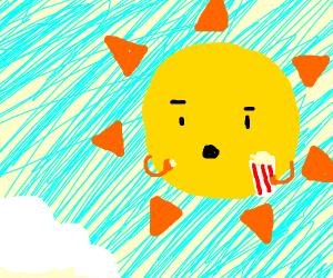 The Sun Loves Eating Popcorn!