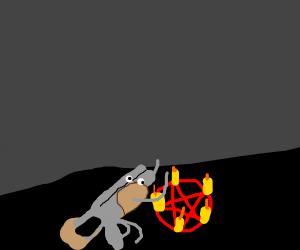 gun praises satan