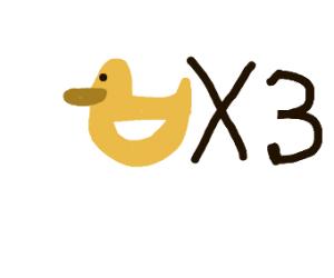 DUCKFLATION yaya (lots of beautiful ducks