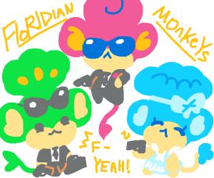 The chibi monkey mafia
