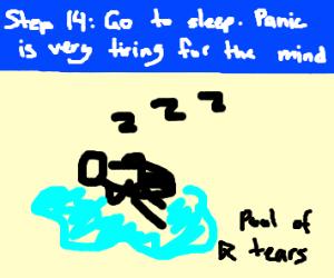 Step 13: PANIC!!!