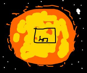 sun's interior