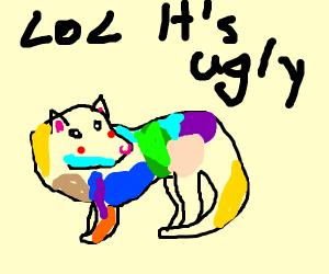 Colorful Ferret