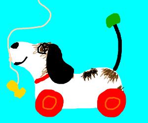 Doggo on wheels!