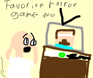 Favorite horror game: minion rush (P.I.O)