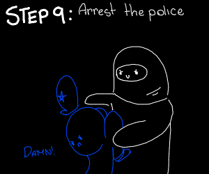 Step 8: Get caught by the police