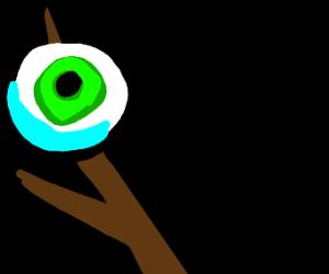Eyeball on a stick