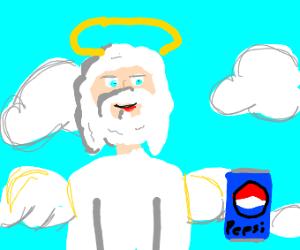 god really wants a pepsi