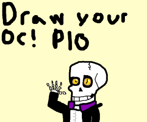 Draw your OC! (P.I.O)