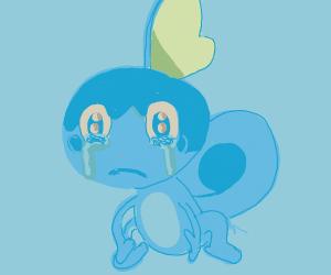 Sobble is sad