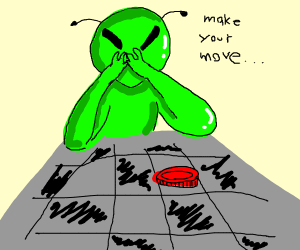 alien is good at playing board games
