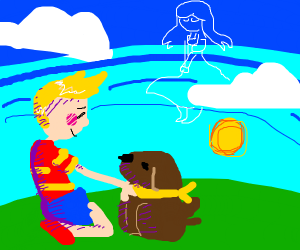 Lucas and Boney mother 3 - Drawception