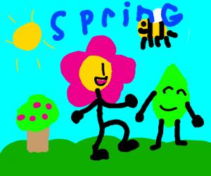 springtime in the park