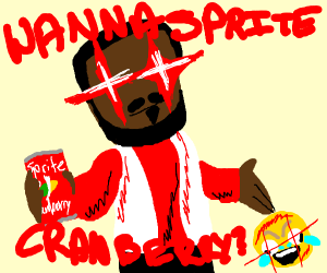 You want a Sprite Cranberry