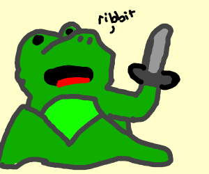 Frog in a Battle