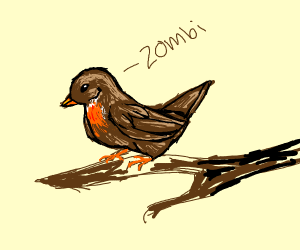 Birds like saying Zombi