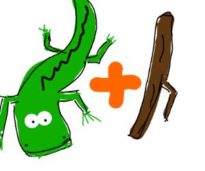 Crocodile stick
