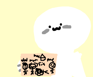 Child Draws Family, One Member Is dead