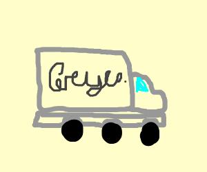 grey truck